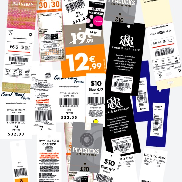 Barcode Price Tickets